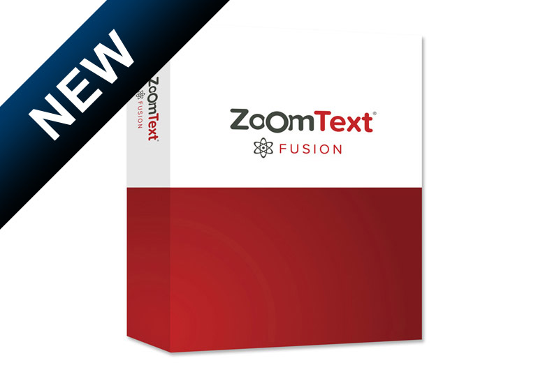 ZoomText Fusion Pro (English version)