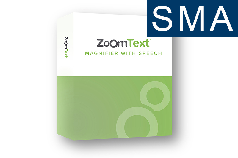 ZoomText Magnifier (International) + SMA