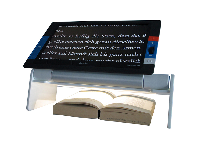 Traveller HD and Traveller HD Reading Stand