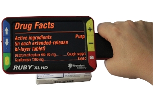 RUBY® XL HD Handheld Video Magnifier