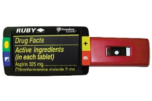 RUBY® Handheld Video Magnifier